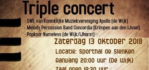 Triple concert-uitgelicht